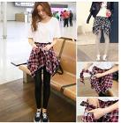 fashion wanita legging + tartan