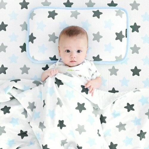 韓國【Borny】3D立體透氣嬰兒床墊 - 蜜糖藍 - 限時優惠好康折扣