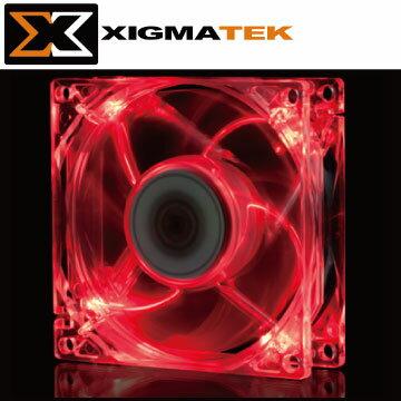 Xigmatek CLF-FR1252 12cm 紅光 LED 系統散熱風扇