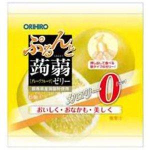 【瞎拚菟JP】ORIHIRO擠壓式果汁蒟蒻果凍--柳橙口味