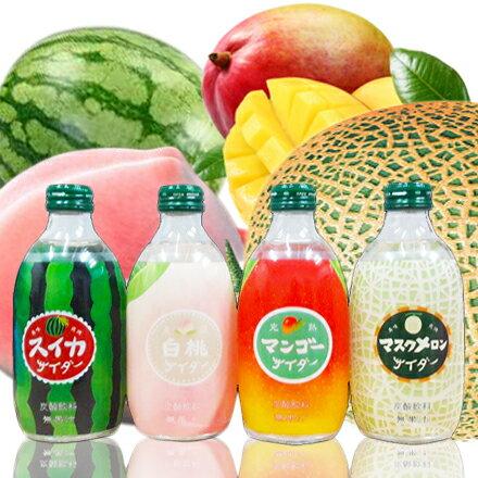 【敵富朗超巿】友舛水果風味蘇打飲料組 0