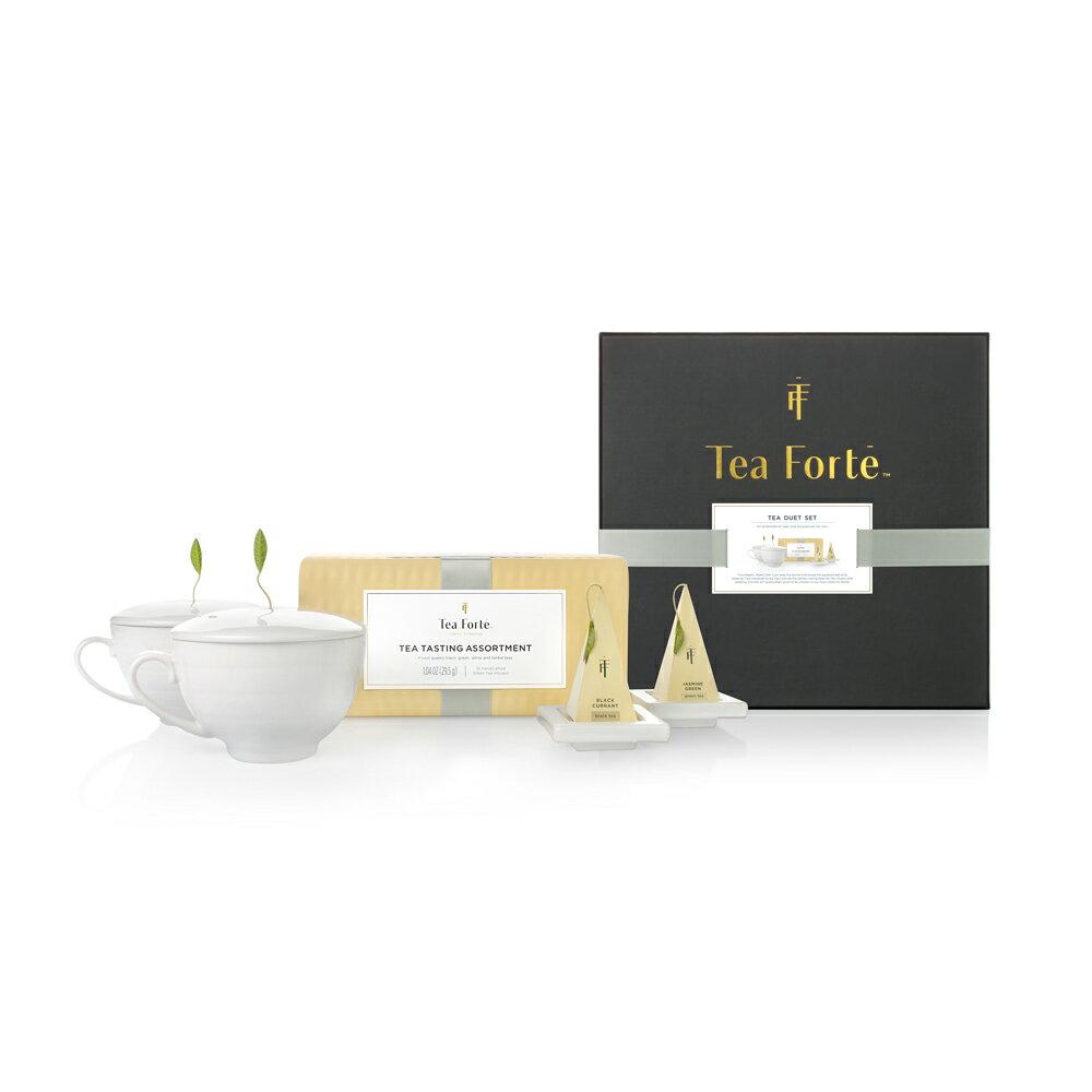 Tea Forte 雙人分享 茶品茶具禮盒 Tea Duet Gift Set 0