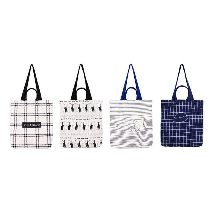 手提包 手提包 帆布袋 手提袋 環保購物袋--手提/單肩【SPE27】 BOBI  10/06 1