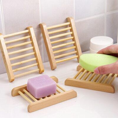 天然防蛀木質香皂盒