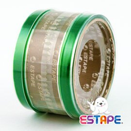 ESTAPE 易撕貼 抽取式OPP膠帶 ^(綠色^) 32R入 ~  好康折扣