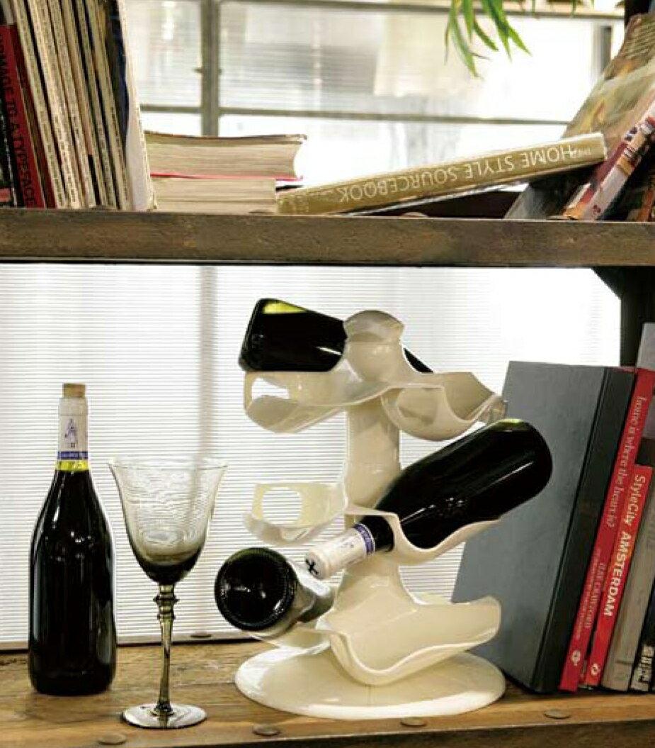 【日本-DULTON】紅酒架-易組裝、輕便、可輕易更換擺設方式,不佔空間,適合擺在任何平台、酒櫃或架子上 0