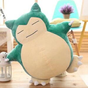Pokemon Go 卡比獸 公仔 毛絨 玩具 玩偶 靠墊 抱枕 生日禮物(50cm) 【AN SHOP】