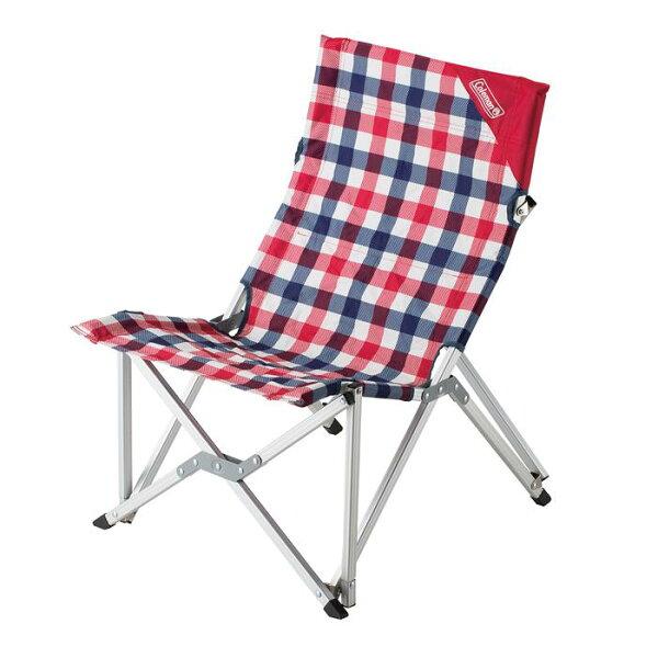├登山樂┤美國 Coleman 紅格紋樂活椅 #CM-26563M000