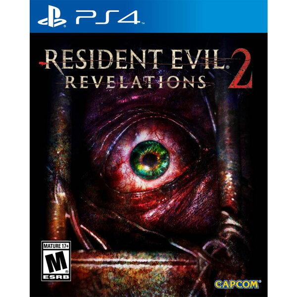 (現貨全新)PS4 惡靈古堡:啟示 2 中英日文美版 Residet Evil Revelations 2