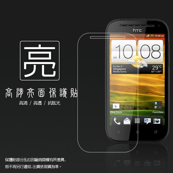 亮面螢幕保護貼 HTC ONE SV C520E / ONE ST T528t 保護貼
