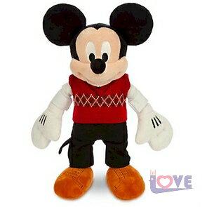 ~滿載愛~ 迪士尼~聖誕節 2014限定版 米奇 micky 37.5cm 娃娃 耶誕節