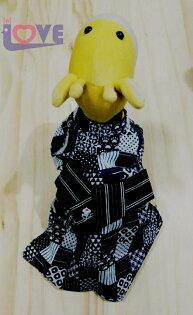 ♥滿載愛♥CREATIVE YOKO/狗和服/藍和服/狗衣服/寵物衣服/小寵物衣服/小型犬衣/貓衣服/毛小孩/日本進口/SS