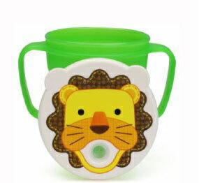 『121婦嬰用品館』baby house  愛迪生防漏吸管握把水杯 250ml - 獅子 0