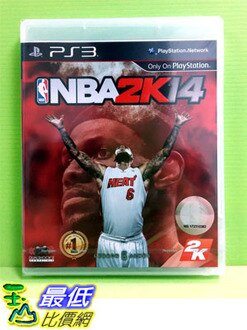 (現金價) PS3 勁爆美國職籃 2K14 NBA 2K14 中文版(亞版)