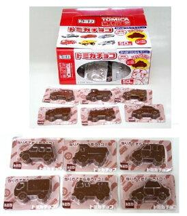 有樂町進口食品 日本原裝進口 丹生堂 TOMICA 汽車造型占卜巧克力 54入 4990327000325