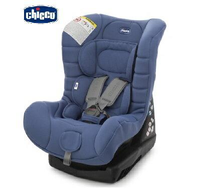 義大利【Chicco】Eletta 寶貝舒適全歲段安全汽座(汽車安全座椅)(經典藍) 0