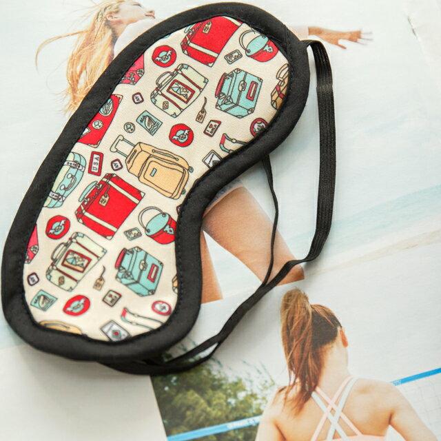 旅人眼罩+頸枕  紓壓/休息 便利實用   3色可選 3