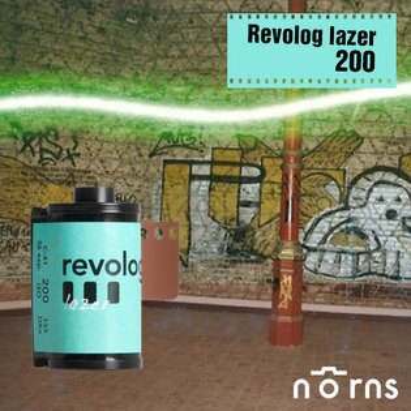 NORNS Revolog lazer 雷射光 200度 膠卷底片 【135mm 負片】底片相機 fm2 lomo