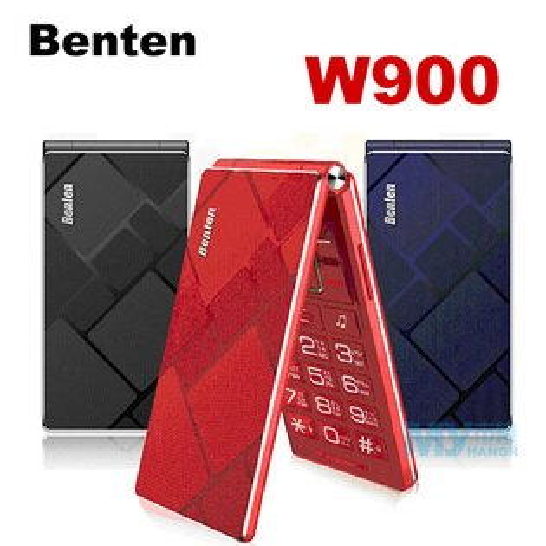 Benten W900 大螢幕摺疊雙卡機(3G+2G)