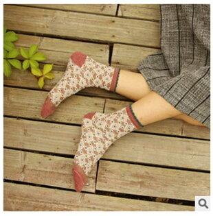 50% OFF【W02364SK】伊茲密爾 日系 民族風 金絲圖騰女襪 全棉 襪子 批發 長襪短襪絲襪隱形襪防滑襪船型襪褲襪韓國襪