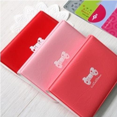 50% OFF【Z03810Sta】韓國caroline蝴蝶結卡夾 卡包 卡套 護照包 實用療癒可愛粉嫩辦公上學上課小物