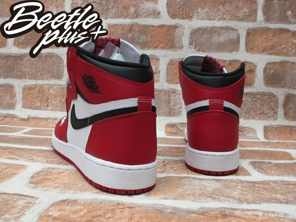 BEETLE PLUS NIKE AIR JORDAN 1 RETRO HIGH OG BG CHICAGO 芝加哥 喬丹 公牛 皮朋 白黑紅 女鞋 575441-101 4