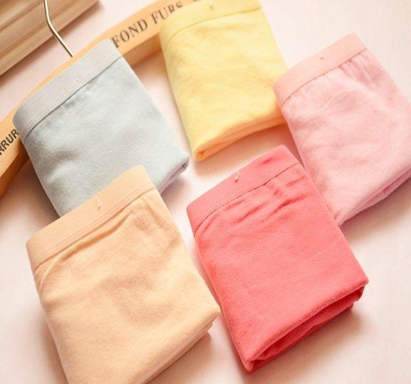 【捉遊趣】純棉內褲 可愛內褲 四角平口內褲 多款顏色  不挑色 隨機出貨