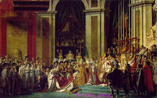 ~捉遊趣~名畫拼圖 ^~1000片^~ 巴黎聖母院拿破崙的加冕禮