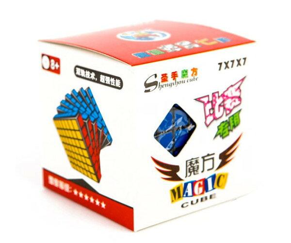 【捉遊趣】聖手七階魔方 魔術方塊 送收納袋 比賽專用