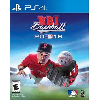 (現貨全新) PS4 美國職棒大聯盟 2016 英文美版 R.B.I. Baseball 2016 (MLB授權)