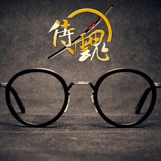 侍魂 - 日式純手工復古日本潮人經典》超有型復古鏡架 /高科技純鈦鏡架》新款上市【MUMUJINS眼鏡職人】