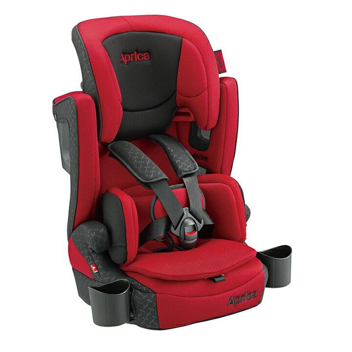 Aprica愛普力卡 - Air Groove Plus 限定版 成長型輔助汽車安全座椅(汽座) -紅色旋風 - 限時優惠好康折扣