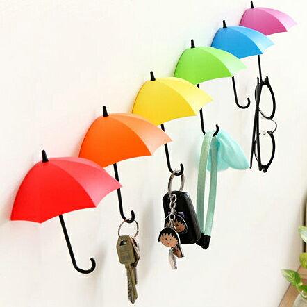 雨傘造型置物架 雨傘掛鉤 【3入/組】不挑色