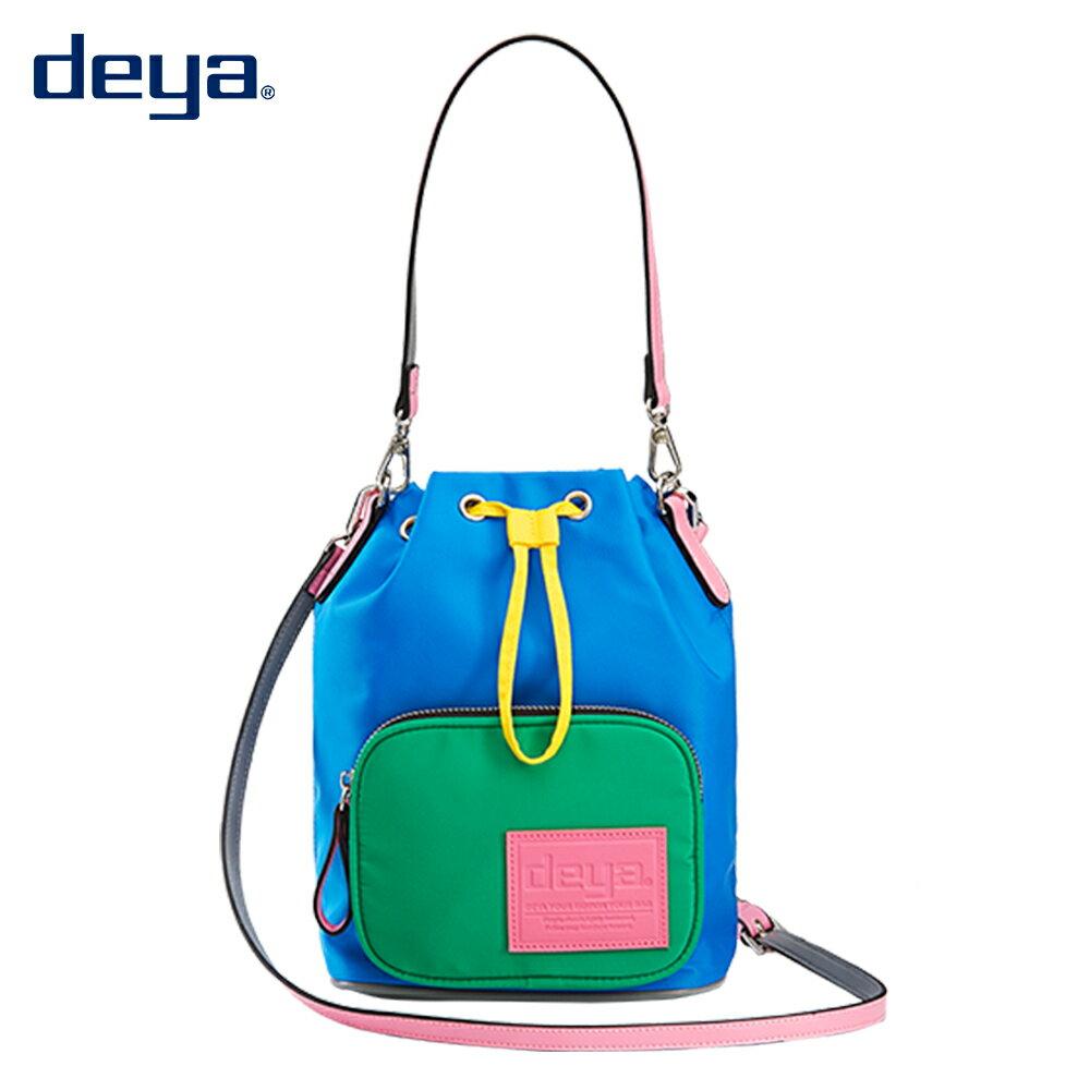 女包-時尚拼色水桶手提包 - 限時優惠好康折扣