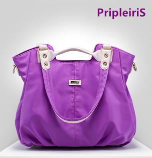 【鳶尾紫】紫色包包 紫色女包 輕便女包 手提包後背包側背包防水防盜防刮輕薄耐用紫色