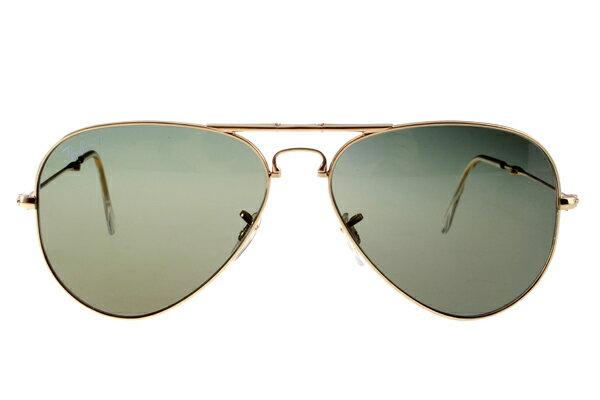 Ray Ban 雷朋 金邊綠鏡 折疊太陽眼鏡 RB3479 3