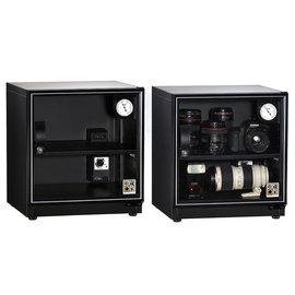 防潮家電55公升 AE-81 收藏家電子防潮箱 免運費 五年保固 單眼相機防潮/發霉/除濕/乾燥 4P四保科技