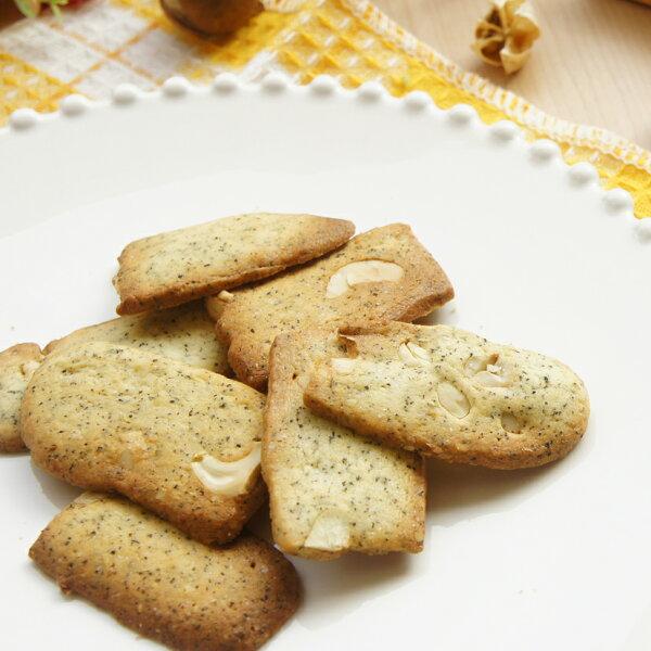 小夫妻烘焙廚房✽手工餅乾✽_伯爵腰果酥(60g)