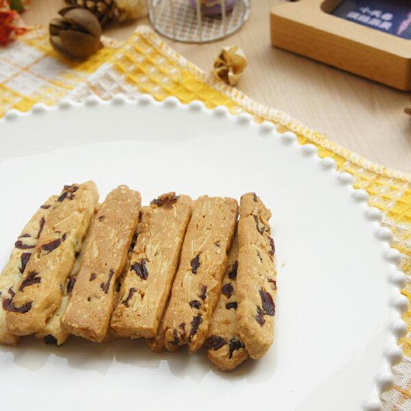小夫妻烘焙廚房✽手工餅乾✽_蔓越莓杏仁棒(60g)