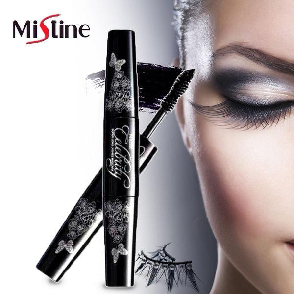 泰國 Mistine 4D黑管雙頭睫毛膏(1入)【AN SHOP】