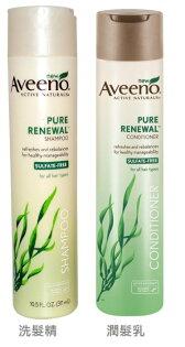 【彤彤小舖】Aveeno 活性更新保濕洗髮精10.5 oz / 311ml 海藻萃取系列