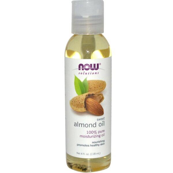 【彤彤小舖】Now Foods Solutions, Sweet Almond oil 甜杏仁油 118ml