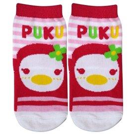 『121婦嬰用品館』PUKU 橫條學步襪24-36m - 粉 1605 0