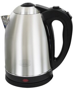 ✈皇宮電器✿ 銳奇1.8公升不銹鋼快煮壺 MD-188 不銹鋼蓋,內壺沒有控溫棒,讓您方便好清洗!