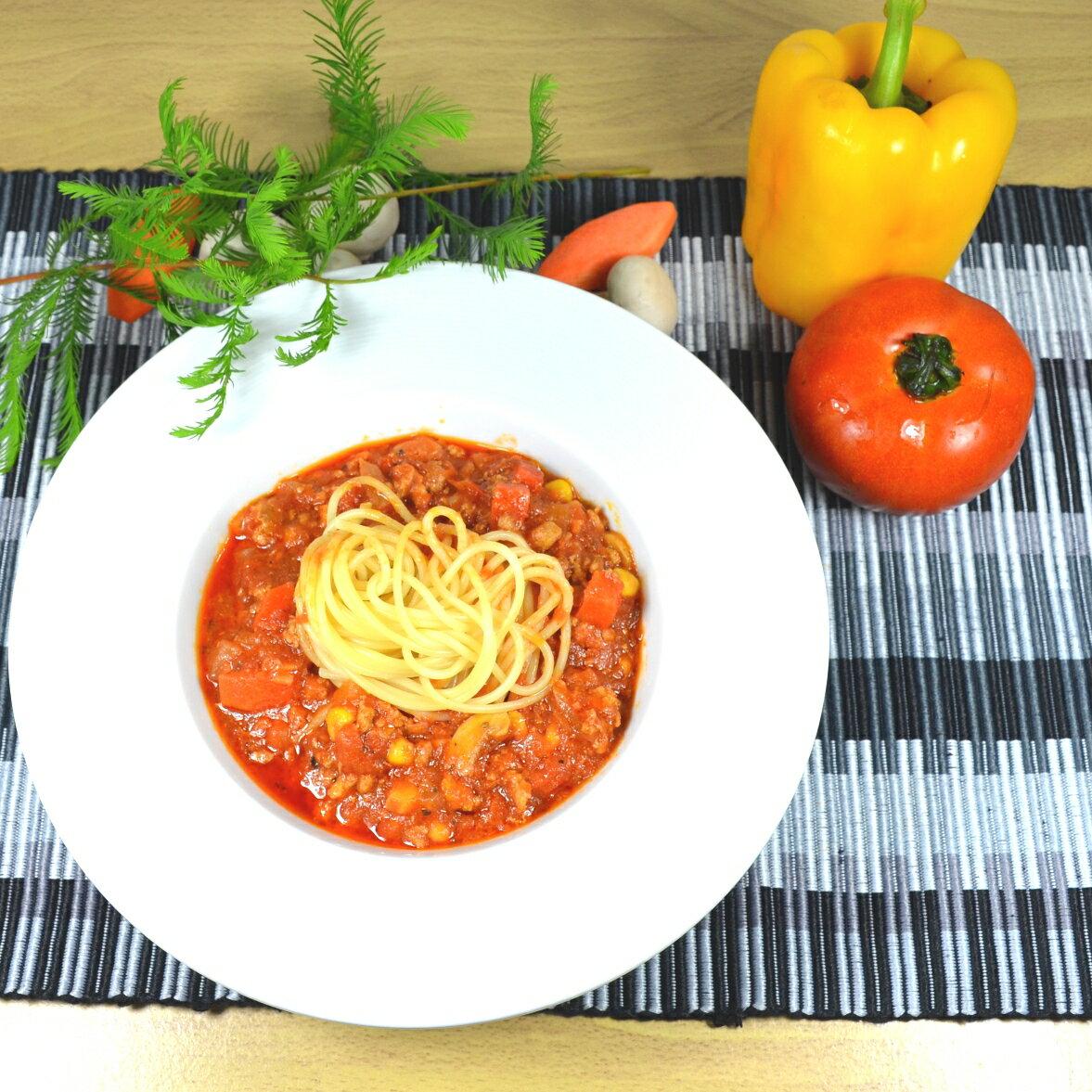 【 禾禾廚房】波隆那肉醬秒熟義大利麵 1