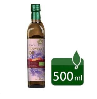 格亞 有機冷壓亞麻籽油 500ml/瓶