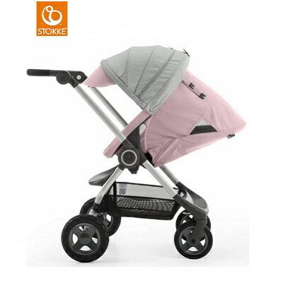 【贈Borny安全帶護套(花色隨機)】Stokke Scoot 2代嬰兒手推車(粉色) 1