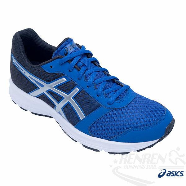 ASICS亞瑟士 男慢跑鞋 PATRIOT 8 健康入門 (藍) 2016新款 緩衝性佳