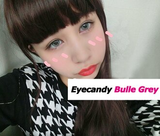 Promo Kecantikan dan Kosmetik Rakuten - softlens eye candy bulle gray