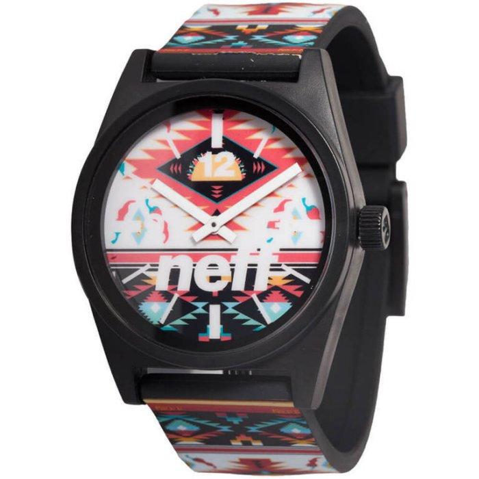 BEETLE NEFF DAILY WILD WATCH 民族風 彩紅 圖騰 藍紅 黑白 指針錶 手錶 圓錶 防潑水 0